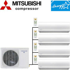 Quad Zone ENERGY STAR Ductless Mini Split Air Conditioner - Heat Pump: 19.5 SEER