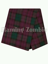New TOPSHOP Tartan Skort Shorts Skirt Size 4 6 8 10 12 14 16
