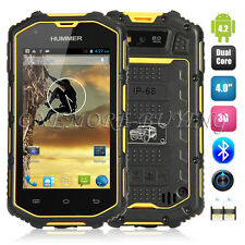 "Hummer H5 IP68 4.0"" Waterproof Dustproof Shockproof MTK6572 Dual-core Smartphone"