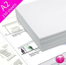 Sheets Inkjet Tracing Plotter Paper 90gsm A1/A2/A3 - HP CANON EPSON OCE KIP