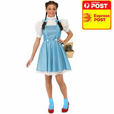 New Dorothy Costume Wizard of Oz Adult Licensed Fancy Dress Disney