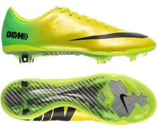 Nike Mercurial Vapor IX FG Soccer Cleats 555605-703 Yellow/Neon Lime/Black 06
