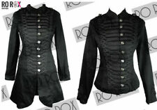 New Black Steampunk My Chemical Romance Emo MCR Military Parade Goth Jacket Coat