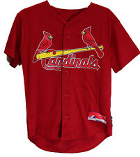 Saint Louis Cardinals Baseball Jersey Majestic Brand Youth Small Medium Large XL