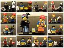 lego the movie figures emmit mermaid Lincoln gail wyldstyle bad cop panda larry