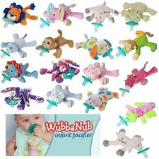 New! WUBBANUB Infant Baby Soothie Pacifier with Plush Toy Mary Meyer You Choose