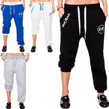 Sexy Damen Hose Sporthose Fitnesshose Jogginghose Sweathose Sweatpants Collage