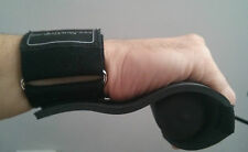 Newgrip padded open rowing sculling gloves grips & with detachable wrist strap: