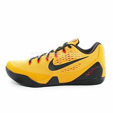 Nike Kobe IX EM [653972-700] Basketball Bruce LEE Gold/Black-Crimson