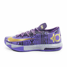 Nike KD VI - BHM [646742-500] Basketball Black Month History Durant Purpe/Gold