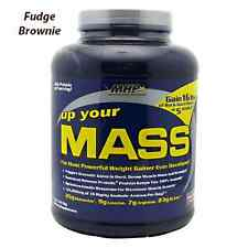 MHP: UP YOUR MASS -  MAXIMUM WEIGHT GAINER - FUDGE BROWNIE (5 lbs)
