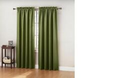 """NEW PAIR (2 pieces) BLACKOUT CURTAINS 108""""W x 63""""L or 108""""W x 84""""L DRAPES GREEN"""