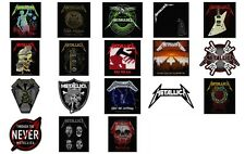 Metallica Sew On Patches NEW OFFICIAL 18 designs to choose from