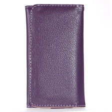 Leather Purse Wallet Case Card Holster Cover For Galaxy S3/4/5 iPhone 4 5 HTC