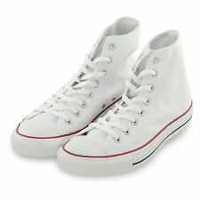Converse Women Shoes Chuck Taylor All Star HiTop Flat Canvas Sneaker Optic White