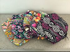 Vera Bradley Large Cosmetic Case in Jazzy blooms/Plum crazy/sun  Free Shipping