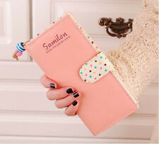 New Fashion Lady Women Long Purse Clutch Wallet High Quality Zip Bag Card Holder
