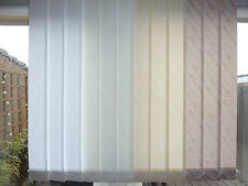 Made To Measure Vertical Blinds In White - Ivory - Sand - Mocha
