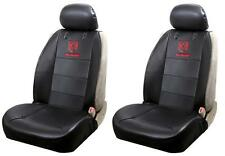 Dodge Ram, Ford, Chevy Bowtie Front Syn Leather Sideless Seat Covers Logo F-150