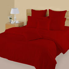 Bed Skirt Soft 1PC 1000TC (Full/Queen/King)100%Cotton Stripe Red Select Drop!Yo