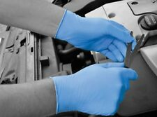 BODYGUARD 4 BLUE DISPOSABLE NITRILE GLOVES - BOX OF 100 GLOVES  FREE DELIVERY