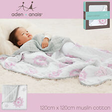 ❄ Aden + Anais Dream Blanket Classic Muslin Cotton Blanket and Various Designs ❄