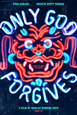 ONLY GOD FORGIVES Movie POSTER Ryan Gosling