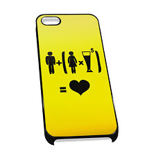 Cover for iPhone 4/5 Case #324 Funny Drunk Gift Idea Mens Present Beer Goggles