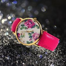 New Fashion Rose Flower Watch For Women Dress Quartz Watches