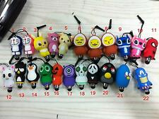 New Cartoon Touch Screen Stylus Pen/Cell Phone Dust plug For Iphone Tablet PC