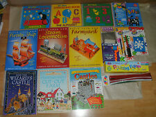 CRAFT PACKS, USBORNE, ART ATTACK HOW TO DO, CUT OUT & BUILD, STENCILS KIDS ADULT