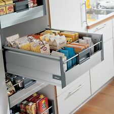 Blum Tandembox 'Plus' Inner Deep Drawer Kit with Blumotion Soft Close - H:203mm