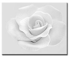 """Pale Rose Flower Canvas Picture. 16""""x20"""". Various colours. New Wall Art"""