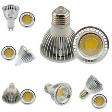 PAR20 COB 9w 12w 15w LED Luz E27 E14 MR16 GU10 Bombillas Focos Lámpara Regulable