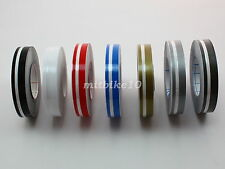 """1/2"""" Double Pin stripe Striping tape Decals Stickers Vinyl tape 12mm Car bicycle"""
