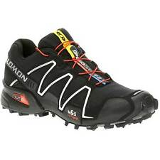 Salomon Speedcross 3 Mens Trail Shoes - Black Silver Running Metallic All Sizes