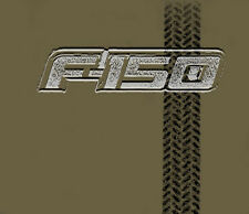 Ford F150 Truck Logo Tire Track Adult T-shirt