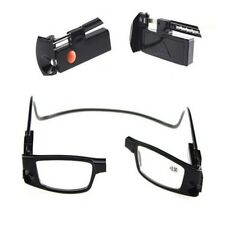 Black LED Reading Presbyopic Glasses Plastic Frame With LED Light For The Old