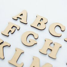 60mm MDF Craft Letters - Wooden Alphabet Letters & numbers of wood shapes sets