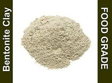 Bentonite Clay Powder Food Grade Detox Heavy Metal,toxins, 2,4,8,1lb 16.oz bags