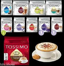 TASSIMO T Discs Capsules Pods - CHOOSE from 38 FLAVOURS pick&mix