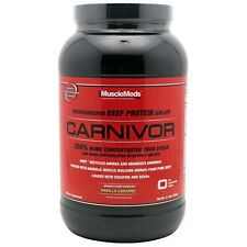 Muscle Meds: CARNIVOR (2 lbs.) BEEF PROTEIN. BCAA. CREATINE.  GLOBAL SHIPPING!