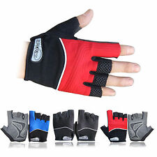 Breathable Mens Fitness Fight Train Gym Sports Exercise Bike Bicycle Gloves L XL