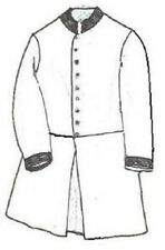 GRSP-321 Civil War Confederate Frockcoat Pattern by Galla Rock Shirt & Patterns