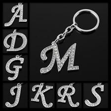 Buy 6 Get 1 Free PERSONAL CAPITALS CUSTOMIZED INITIALS LETTERS SILVER KEY CHAINS