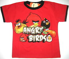 BNWT Angry Birds T-Shirt Top Tshirt 100% cotton new release