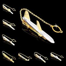 Buy 6 Get 1 Free NOVELTY CUSTOMIZED GOLD SILVER THIN TIE CLIP PIN BAR CLASP TACK