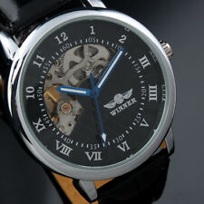 Classic Steampunk Skeleton Dress Style Mens Mechanical Man's Watch Men's Watches