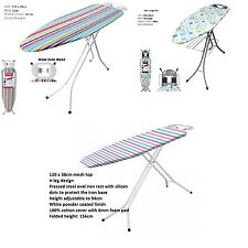 New Medium Large Ex-Large Large Wide Light Weight Steel Ironing Iron Board Cover