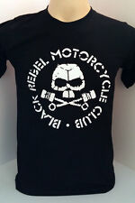 Black Rebel Motorcycle Club rock band BRMC handmade black t shirt size S